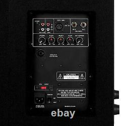12 Active Dj Monitor 550w Rms 2-way Pa Speaker Disco Karaoke Party Loudspeaker