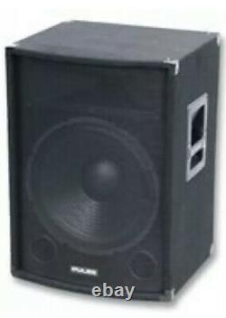 12-Inch 150W RMS Passive Disco PA Speaker Cabinet for DJ Karaoke Home Party