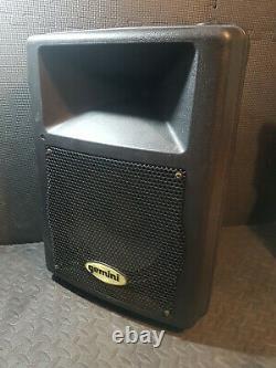 1 x Active Gemini GX250 10 PA Disco Speakers used