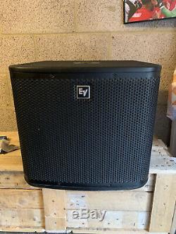 2 X Electro-Voice ZXA1 Subs 12 Active Subwoofers Bass Bin DJ Disco PA