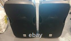 2 x Alto Truesonic TS-115A ACTIVE Disco/Band Speakers in good condition