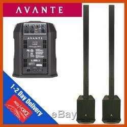 2 x Avante AS8 Column Loudspeaker 800W DJ Disco Sound System PA inc Column Bag