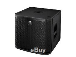 2 x Electro-Voice ZXA1 Sub 12 Active Subwoofer Bass Bin DJ Disco PA 1600W