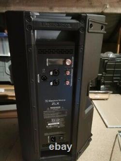2 x Electrovoice ZLX12P 2 Way 1000w 12 Powered Speaker DJ Disco PA Sound System