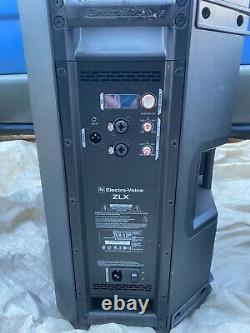 2 x Electrovoice ZLX12p 2 Way 1000w 12 Powered Speaker DJ Disco PA with Covers