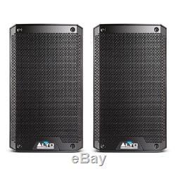 2x Alto TS308 Active 8 Speaker 2000W Powered Loudspeaker Disco DJ Sound System