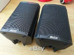 2x Alto TS310 Active Powered 10 1000W RMS DJ Disco Band Stage PA Speakers