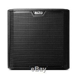 2x Alto TS312S Active 12 2000W Subwoofer Bass Bin Speaker DJ Disco Sound System