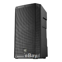 2x Electrovoice ELX200-12P Active 12 PA Speaker 1200W DJ Disco Sound System