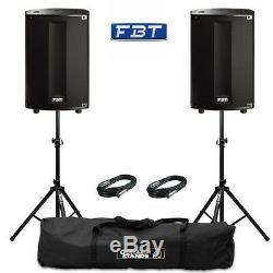2x FBT ProMaxx 114a Professional 14 1800W Active DJ Disco Club PA Speakers