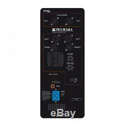 2x HK Audio Premium PRO18SA 18 Active Subwoofer Bass Bin DJ Disco PA