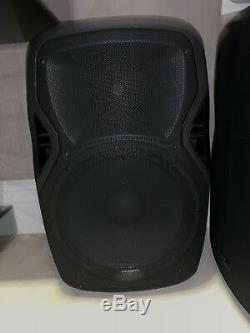 2x KAM RZ15A V3 15 1200W Full Range DJ PA Active Disco Speaker