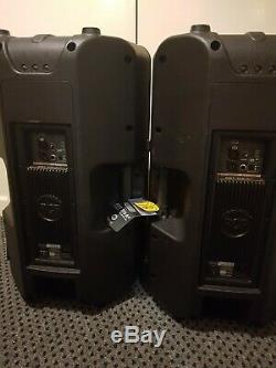 2x RCF ART 315-A MK4 Professional 15-Inch Active DJ Disco Club Stage PA Speakers