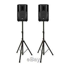 2x RCF ART 708-A Active Powered Speaker 8 400W DJ Disco PA System