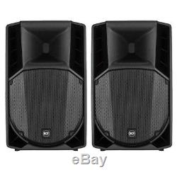 2x RCF Art 735-A MK4 Professional 15-Inch Active DJ Disco Club Stage PA Speakers