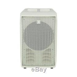 2x RCF J8 White Active Speaker System Column Array 1400W Wedding DJ Disco