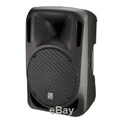 2x Studiomaster 15A Active 15î Loudspeaker 620W DJ Disco Sound System inc Stands