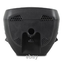 2x Vonyx AP1200A Active 12 Inch DJ Disco PA Speakers + Stands 1200W Max Kit