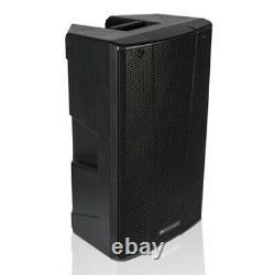 2x dB Technologies B-Hype 15 Active PA Speaker 15 DJ Disco Sound System Bundle