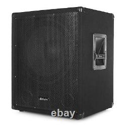 600w Total Active Subwoofer 2 X 150w Output For Satellite Speakers Disco Pa Dj