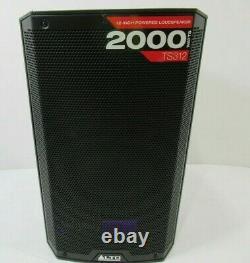 ALTO TS312 12 2000W Active Speaker PA DJ Disco Outdoor Garden EX-DISPLAY
