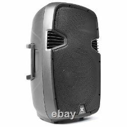 Active PA Speaker 800W Wireless Bluetooth Audio Streaming 15 Vonyx DJ Disco