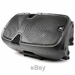 Active PA Speaker Mobile Built In Battery DJ Disco + Microphones 700W Bluetooth