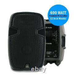 Active PA Speaker Skytec SPJ-1200A 12 Woofer DJ Disco Party Powerfull 600W