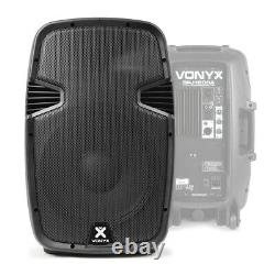 Active PA Speaker Vonyx SPJ-1200A 12 Woofer DJ Disco Party Powerful 600W