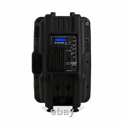 Active Power 12 Disco Dj Pa Speaker 600w Bluetooth Interface Abs Monitor