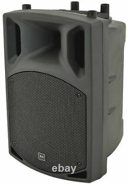 Active Powered Disco Party DJ Bluetooth Monitor Speaker Portable PA System