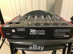Active Powered PA Speaker Sound System for Mobile DJ Disco Setup
