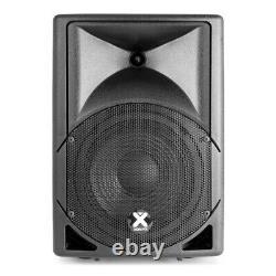 Active Powered PA Speaker Sound System for Mobile DJ Disco Setup 15 Subwoofer