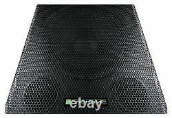 Active Powered Subwoofer 18'' DJ PA Disco Club Bar Live Bass Reflex Box Bin 700W
