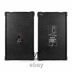 Active Speakers Usb Sd Mp3 Dj Disco Party Karaoke Pa Sound System 600w Pair New