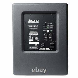 Alto TS218S Active Powered 1250W 18 Class D Amp DJ Disco Club PA Subwoofer
