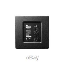 Alto TS308 Active 1000W RMS 8 DJ Disco PA Speaker (x2) & TS312S 12 Subwoofer