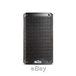 Alto TS308 Active 8 DJ Disco PA Speakers (Pair) with Gorilla Stands & Cables