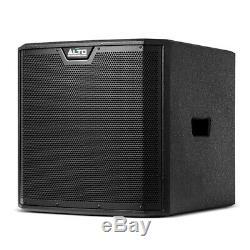 Alto TS312S Active 12 2000W Subwoofer Bass Bin Speaker DJ Disco Sound System