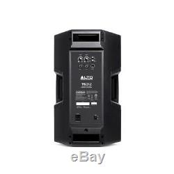 Alto TS312 1000W RMS 12 Active DJ Disco PA Speaker (x2) & TS315S 15 Subwoofer