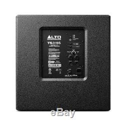 Alto TS315S Active 15 2000W Subwoofer Bass Bin Speaker DJ Disco Sound System