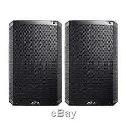 Alto TS315 Active 15 1000W RMS DJ Disco PA Speakers (Pair) with FREE Cables