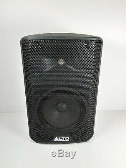 Alto TX208 Active 330 Watt Powered 8 DJ Disco PA Speaker (Pair) No Cables