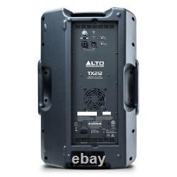 Alto TX212 12 600W Active Powered DJ PA Disco Speaker with 6m XLR Lead UK