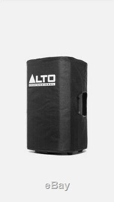 Alto TX212 Active 12 300W RMS DJ Disco PA Speaker (Pair) with Stands & Cables