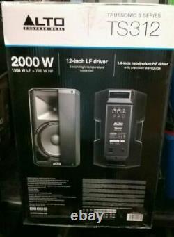 Alto Truesonic TS312 Powered Loudspeaker DJ Disco Band Stage PA Speaker