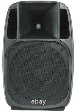 BST PM15A-BT Active 2-WEGE ABS 15 Loudspeaker Box 600W Party Disco Club Dj