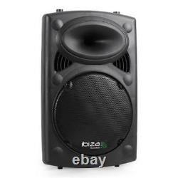 B-Stock 10 INCH ACTIVE SPEAKER 400W MOBILE DISCO PARTY 2-WAY EQ USB SD MP3 PLA