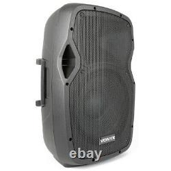B-Stock Active Powered PA DJ Disco 12 Bluetooth Speaker System 600W MP3 Player