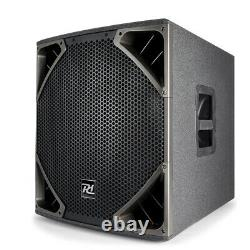 B-Stock Active SubWoofer Speaker 15 Sub Driver Bass Bin 500W PA DJ Disco Club
